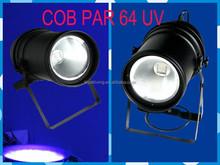 Led stage lights Guangzhou supplier cob par 64 uv 150w light source led black light