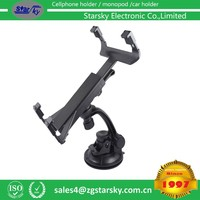 DVD-C-AY 360 Degree Adjustable Car PC Mount Stand Holder tablet Tablet pc holder for pad