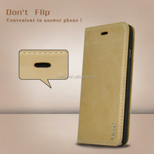 China New High Quality Luxury Mobile Phone Cases , For iphone 6 6S Real Leather Case