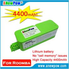for Roomba 400 series 4000 series Runs longer vacuum cleaner Lithium battery