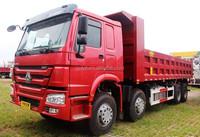 SINOTRUK HOWO 8x4 Tipper Truck for sale used man diesel tipper truck