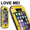 LOVE MEI Metal Ultra-thin Powerful Protective Dustproof Shockproof Waterproof Case for iPhone 6 Plus 5.5 inch