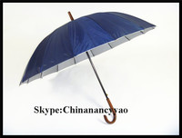 16 Ribs Straight Gift Sun Umbrella