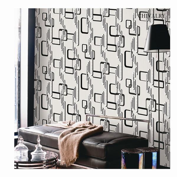 Modern design pvc wallpaper cheap wallpaper chivalry for Cheap modern wallpaper