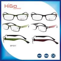 2015 latest new design plastic eyeglass reading glasses 2015