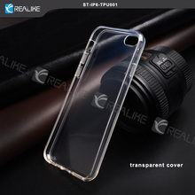 OEM crystal clear tpu case for iphone 6, case for iphone 6 plus transparent tpu flexible