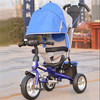 New deluxe baby tricycle, two seat children tricycle, kids 3 wheel bicycle ride on toy