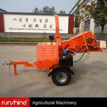 World best selling DWC-22 diesel wood chipping machine
