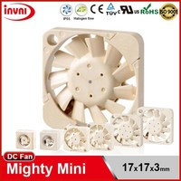 Mighty Mini SUNON Maglev 1703 17x3 17mm 17x17 17x17x3 Small Exhaust Micro Cooling Fan 3V DC Axial Fan 17x17x3mm (UF3H3-500/700)