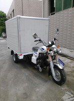 China 150CC good quality cargo tricycle with closed cargo box SY150ZH-F2