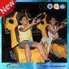 Amazing 4d cinema equipment interactive 7D theater with gun shooting game