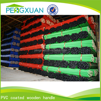 top supplier hot sale flower pvc wooden broom stick