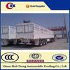 semi livestock trailers fence semi trailer cheap price China manufacturer horse trailer