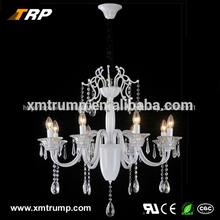 e14 8 vela de las luces decorativas sala comedor europeo araña de cristal