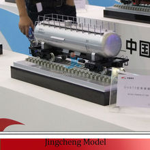 Professional mechanical scale model for contractor advertising show