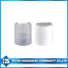 28 415 Plastic Disc top Cap Press Cap with ABS Cover and Collar
