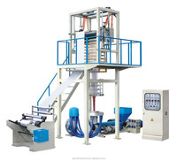 PE Plastic Normal Blown Film Extrusion Machine For Shopping Bag Production