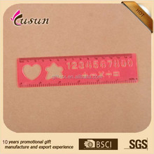 Wholesale brand 15cm plastic straight scale drawing ruler