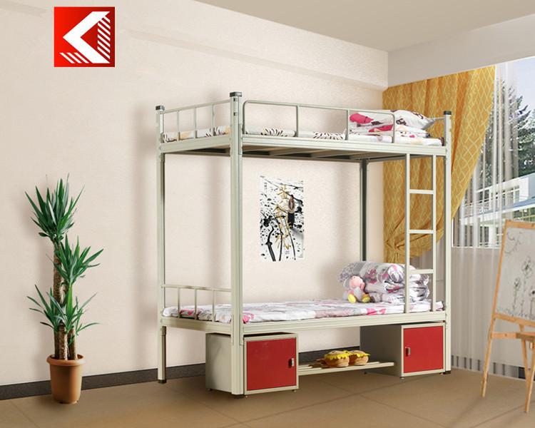 m tal lourd adultes duty fer acier double superpos s tuyau tube cadre de lit pour dortoir de l. Black Bedroom Furniture Sets. Home Design Ideas
