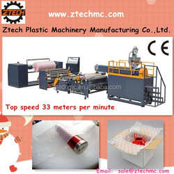 securit and relability two-layer Air Bubble Film Blowing Machine