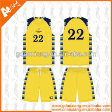 A-league quality Sublimation Newly Basketball practice jersey/short