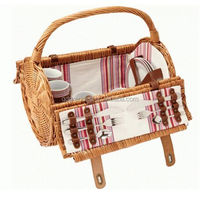2016 top quality new style wicker picnic basket