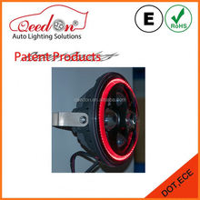 Qeedon easy installation with angel eyes high low beam Hot Promotion led headlight