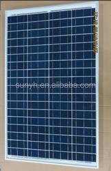 80W 90w 100w Solar Panel 18V, poly crystalline, flexibile dimension is acceptable, Ningbo Ring Solar