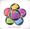 new design colorful tissue paper/17g 24g tissue wrapping paper/color wrapping tissue paper