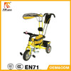 New model three wheel cheap baby tricycle with roof from China