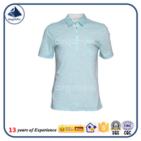 100% cotton rugby jersey solid color tennis shirt
