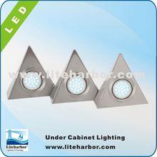 4.5W 3 Piece Triangular china made energy saving G4 led puck price