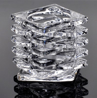 buyers of handicraft products tall crystal candelabra glass candleholder