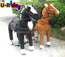 Kiddy Little horse animal walking rides with CE certification