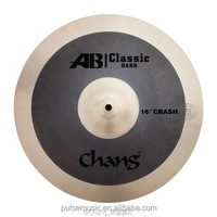 """Chang AB dark 16"""" Crash Cymbals For Drums/Musical Instruments"""