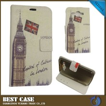 Alibaba wallet leather flip case for huawei y520