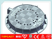 cast iron canal cover cast iron manhole cover EN124