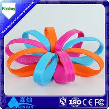 RFID Silicone TK4100/EM4200 Wristband RFID bracelet with unique qr code