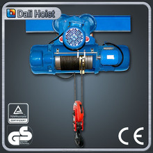 small motor pulleys CD1 type electric hoist wire rope electric hoist