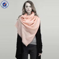 2015 Winter Autumn Solid Colour Twill 15 Colours High Quality 100% Pure Wool Scarf SWW716 big wool scarf wholesale