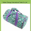 Promotional high capacity polyester travel sport duffel bag with printing