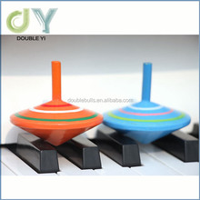 2016Hot Selling Handworked Wooden Toy Spinning Top , Wooden gyro spinning top , wooden spinning gyros