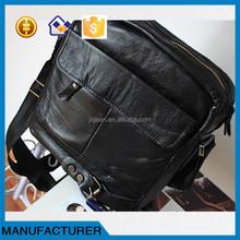 Sell leather bags men's handbag very cheap genuine cow leather handbag