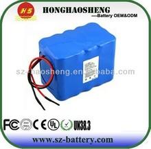 Light weight electric bike battery/li ion 24v 6s4p battery pack for e-bike/24v 8ah li-ion battery packs