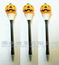Pumpkin LED Flashing pen, Halloween Flashing Pumpkin Pen