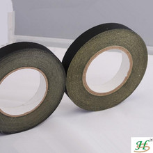 Strong bonding black rubber lead acetate cloth adhesive tape