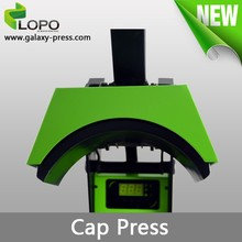hot selling different sized Pluto Cap Heat Press Machine from Lopo