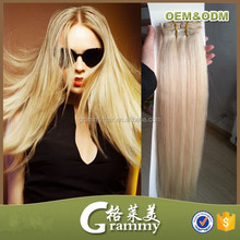 aaa luxury 100% indian remy clip in hair extension bangs