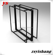 Customized european style iron stand for clothes with Yishang