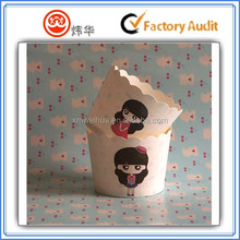 cartoon painting wholesale cup cake paper cup